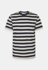Selected Homme - MAXWELL ONECK TEE - Print T-shirt - sky captain/melange - 4