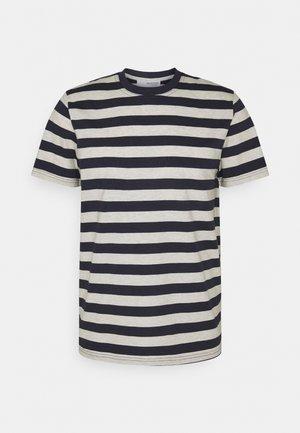 MAXWELL ONECK TEE - T-shirt print - sky captain/melange