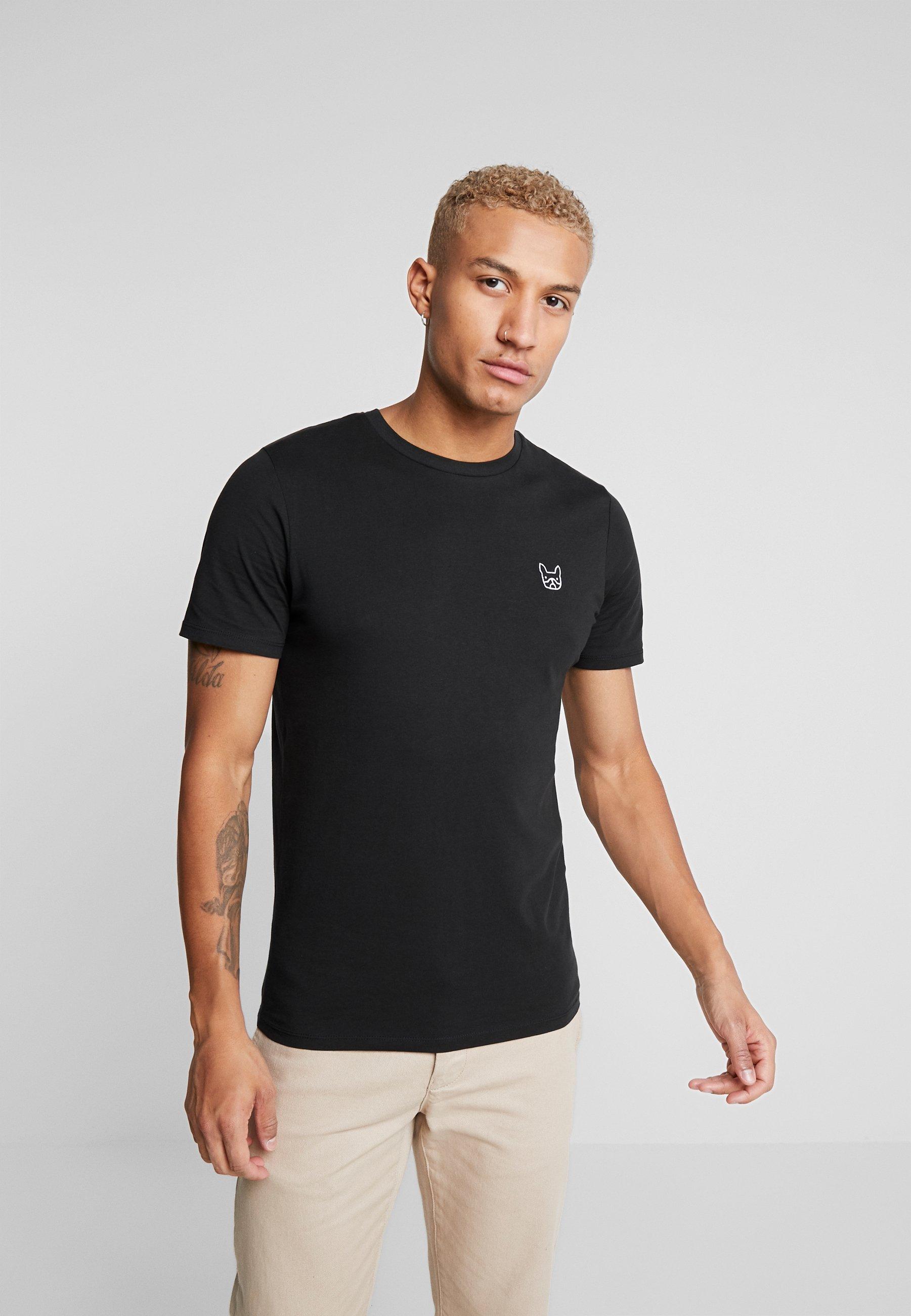 Hombre JJEDENIM LOGO TEE O-NECK - Camiseta básica