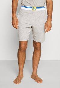 Calvin Klein Underwear - SLEEP SHORT - Pyjama bottoms - grey - 0