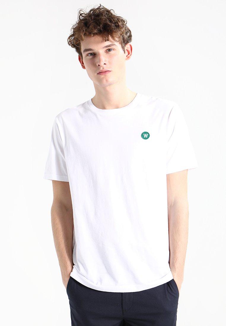 Wood Wood - ACE - Basic T-shirt - white
