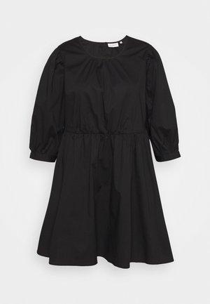CARELLY LIFE O NECK DRESS - Day dress - black