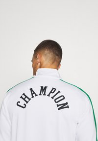 Champion - ROCHESTER RETRO BASKET FULL ZIP - Kurtka sportowa - white/green - 4