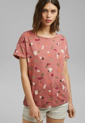 Print T-shirt - blush