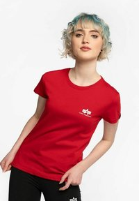 Alpha Industries - Print T-shirt - red - 0