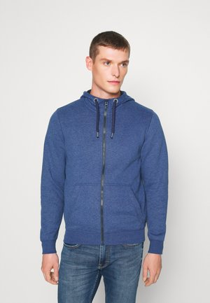 LANGARM - Zip-up hoodie - dark blue