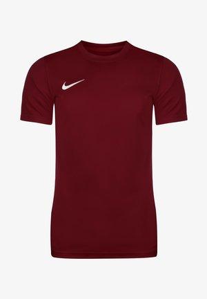 DRI-FIT PARK - T-shirt - bas - team red / white