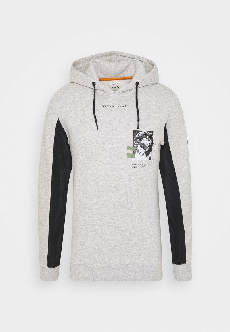 Redefined Rebel - PALOMA - Hoodie - light grey melange