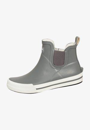 Wellies - grau/weiß