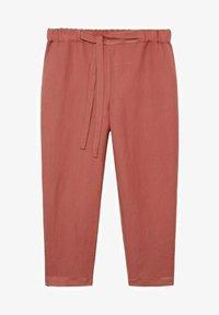 Violeta by Mango - COTILI8 - Trousers - pink - 4