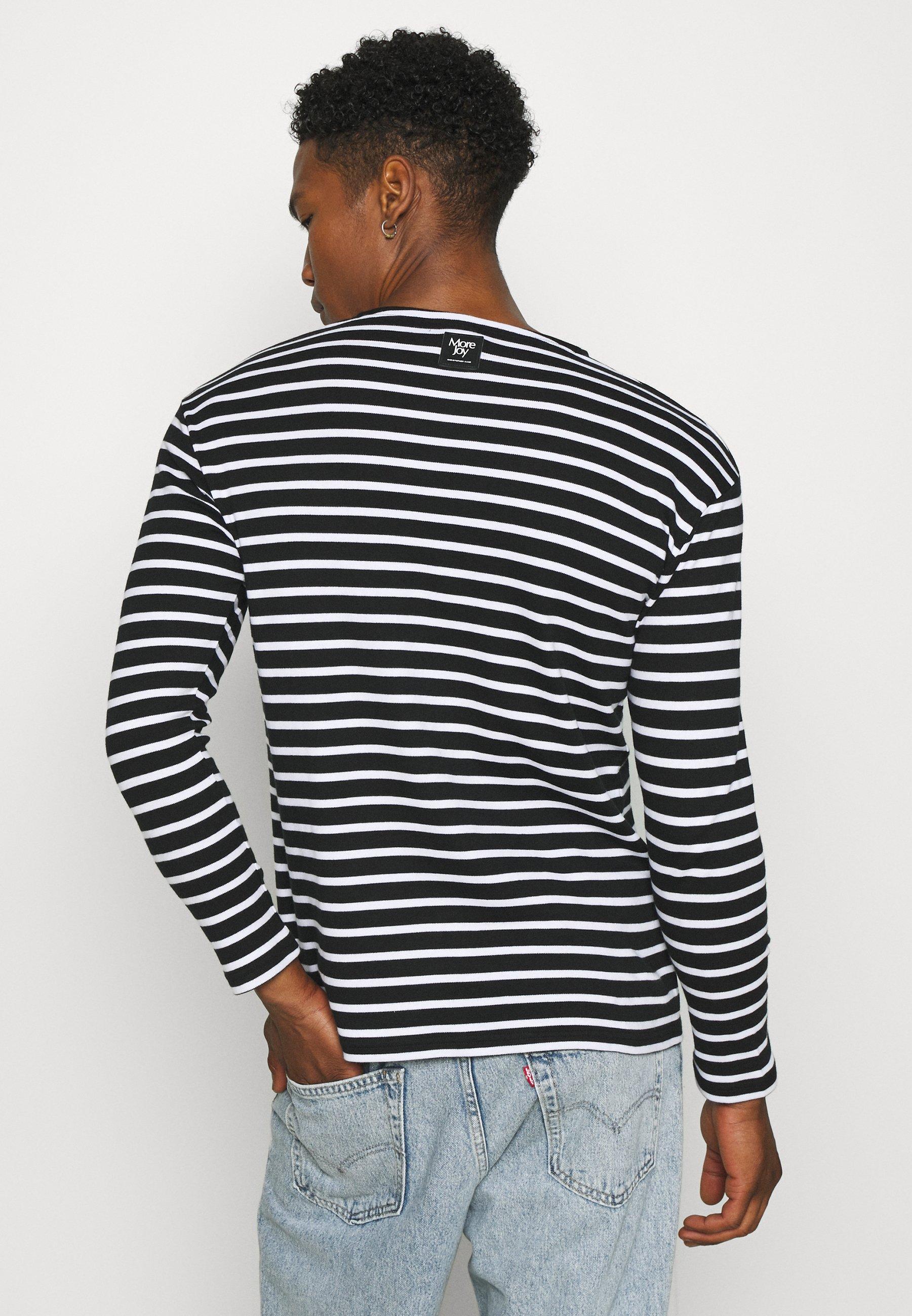 Herrer BRETON STRIPE LONG SLEEVE UNISEX - Langærmede T-shirts