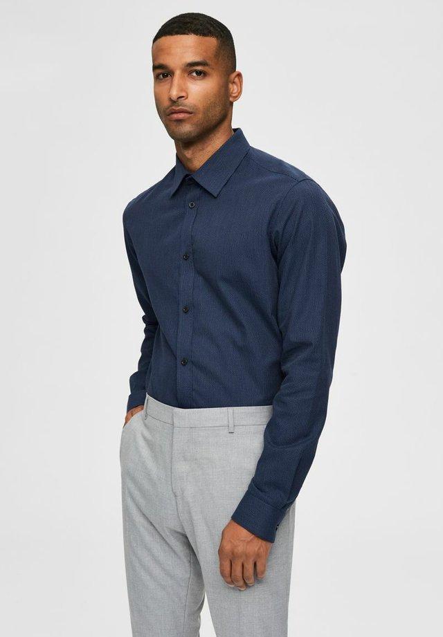SLIM FIT - Camisa elegante - dark navy