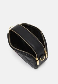 Bally - DIAMOND CASUAL MINI BAG - Handbag - black/redbone - 3