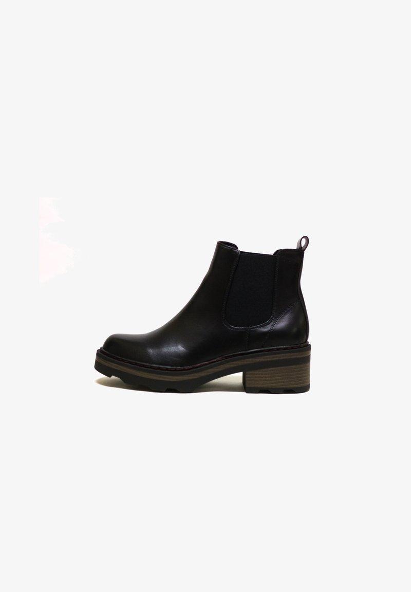 H.I.S - Kotníková obuv - black