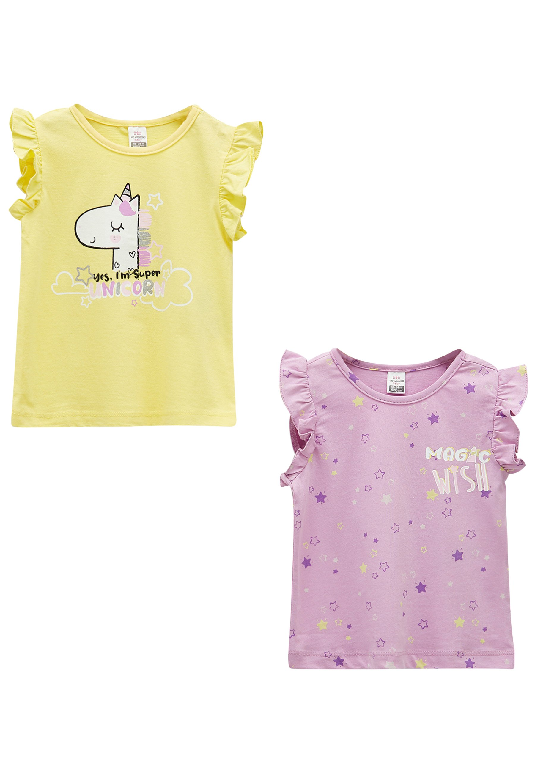 Bambini 2 PACK - T-shirt con stampa