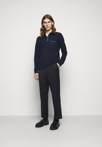 Missoni - LONG SLEEVE - Polo - blue navy - 1