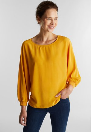 Blouse - honey yellow