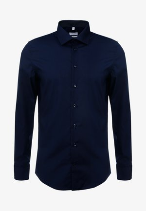 BUSINESS KENT PATCH SLIM FIT - Businesshemd - dark blue