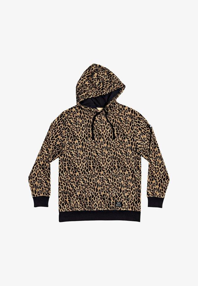 Hoodie - leopard fade