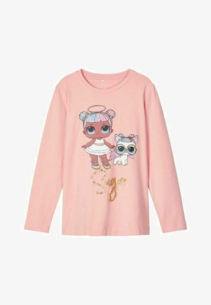 Long sleeved top - mellow rose