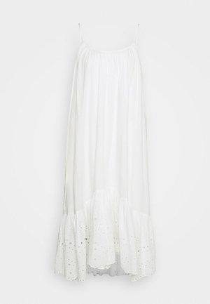 PAOLA DRESS - Sukienka letnia - chalk white