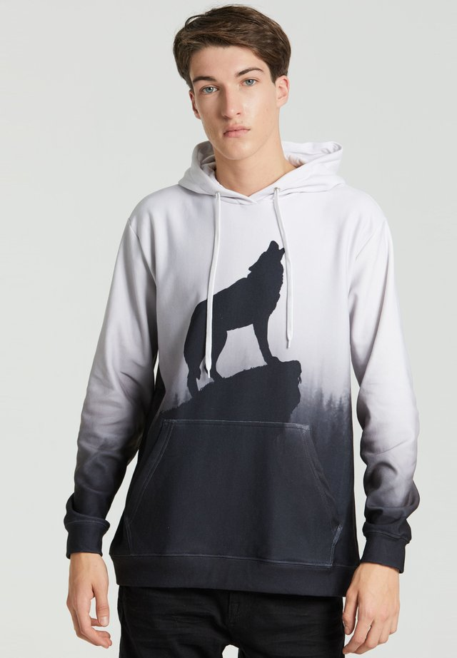 SHADOW OF WOLF  - Hoodie - grey