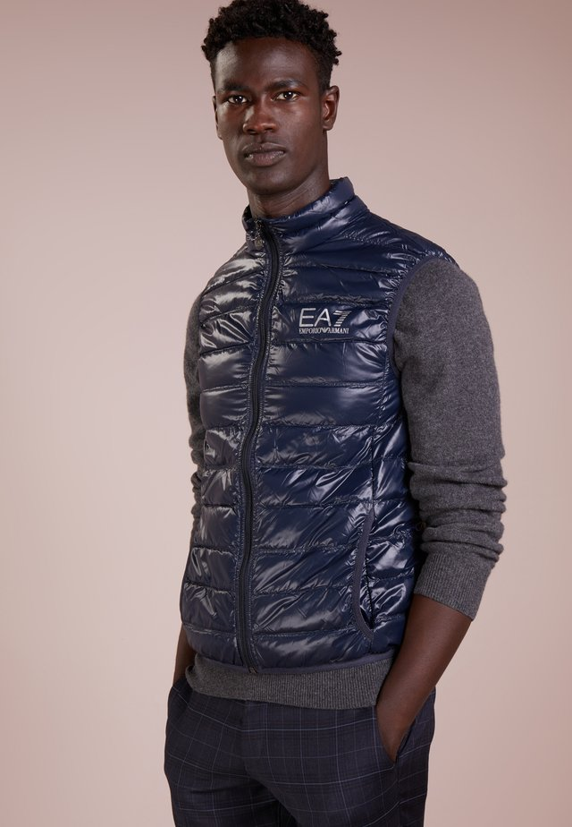 JACKET VEST - Veste sans manches - night blue