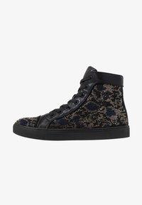 Steve Madden - RIOT - Sneakersy wysokie - black/silver - 0
