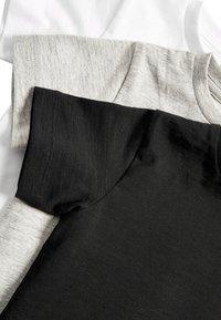 Next - 3PACK - T-shirt basic - black - 5