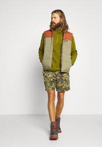 The North Face - MENS GLACIER 1/4 ZIP - Fleece jumper - fir green - 1