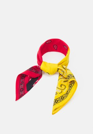 PAISLEY PRINT BANDANA UNISEX - Skjerf - yellow