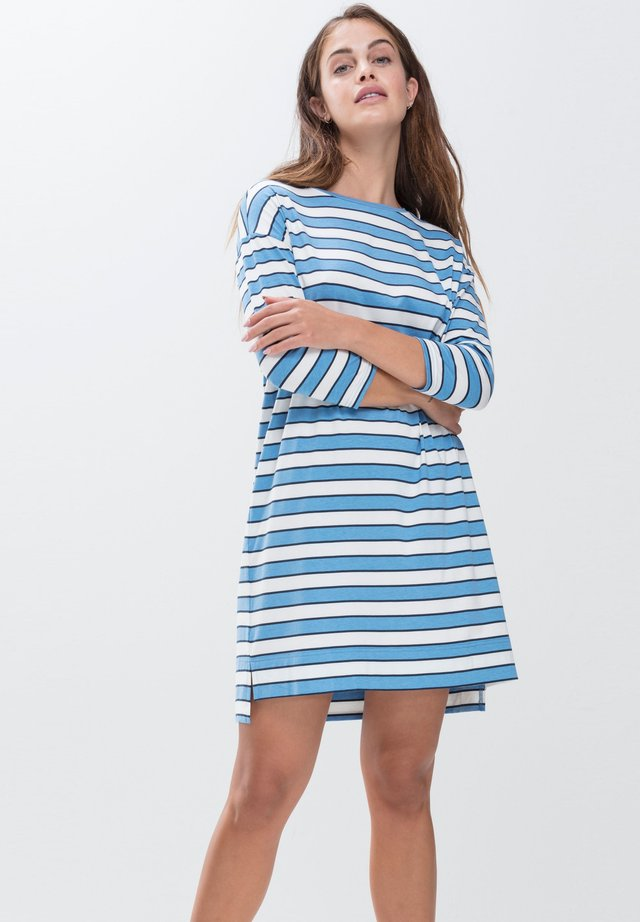 SCHLAFSHIRT SERIE NIGHT2DAY - Nightie - pacific blue