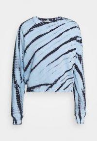 Proenza Schouler White Label - MODIFIED RAGLAN TIE DYE - Sweatshirt - light chambray/navy - 4