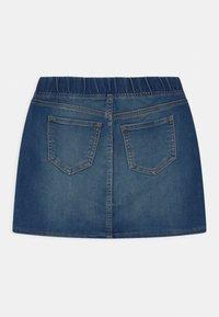 GAP - GIRLS - Mini skirt - dark indigo - 1