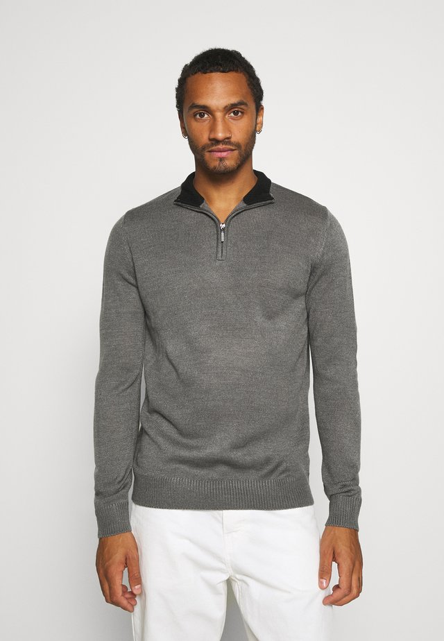 KESTER - Jumper - dark grey marl
