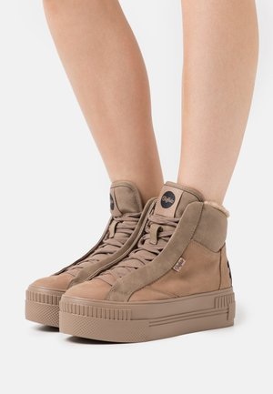 PAIRED - Sneaker high - taupe