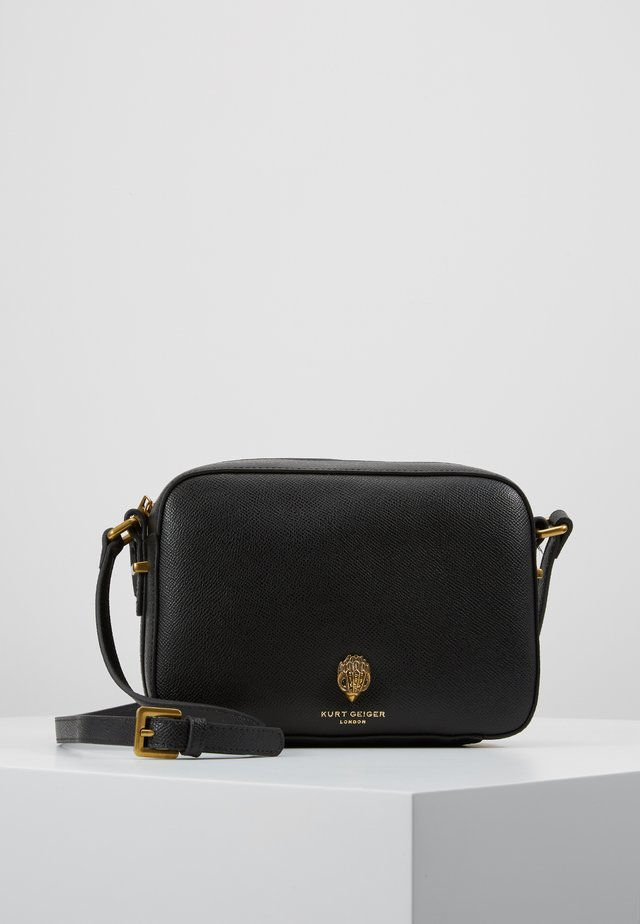 RICHMOND CROSS BODY - Axelremsväska - black