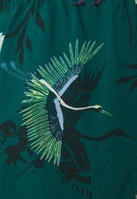 Hunkemöller - SHORT LOTUS BIRD - Pyjama bottoms - storm - 2