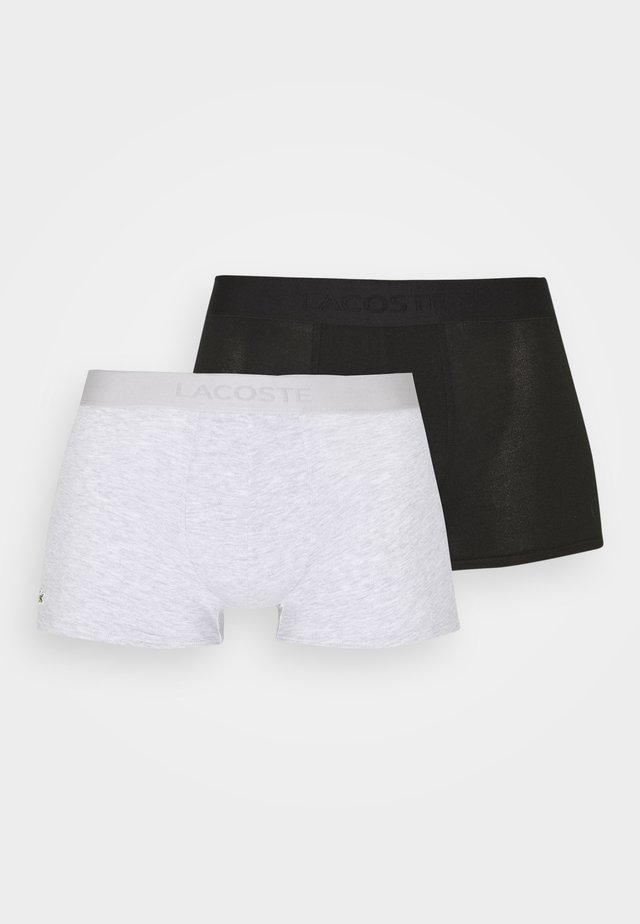2 PACK - Shorty - noir/argent chine