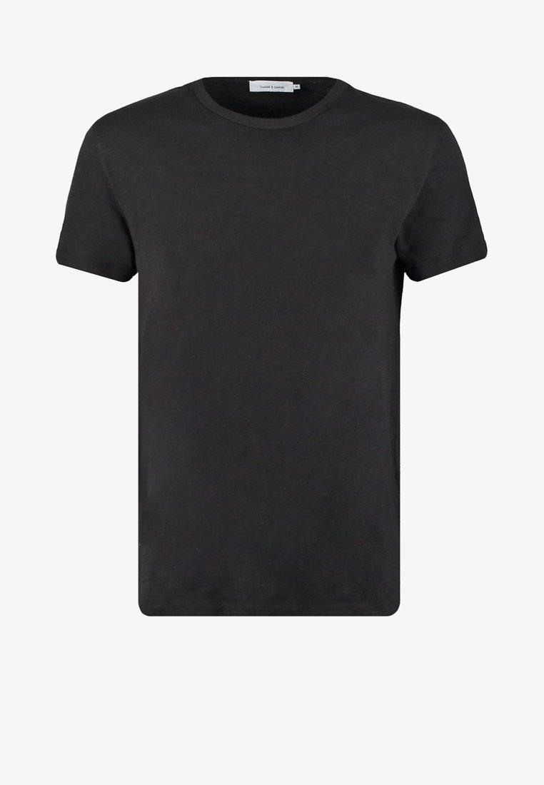 Samsøe Samsøe LASSEN - T-Shirt basic - duck green/grün NQpbeR