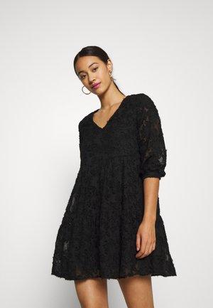 VMLAURA SHORT DRESS - Day dress - black