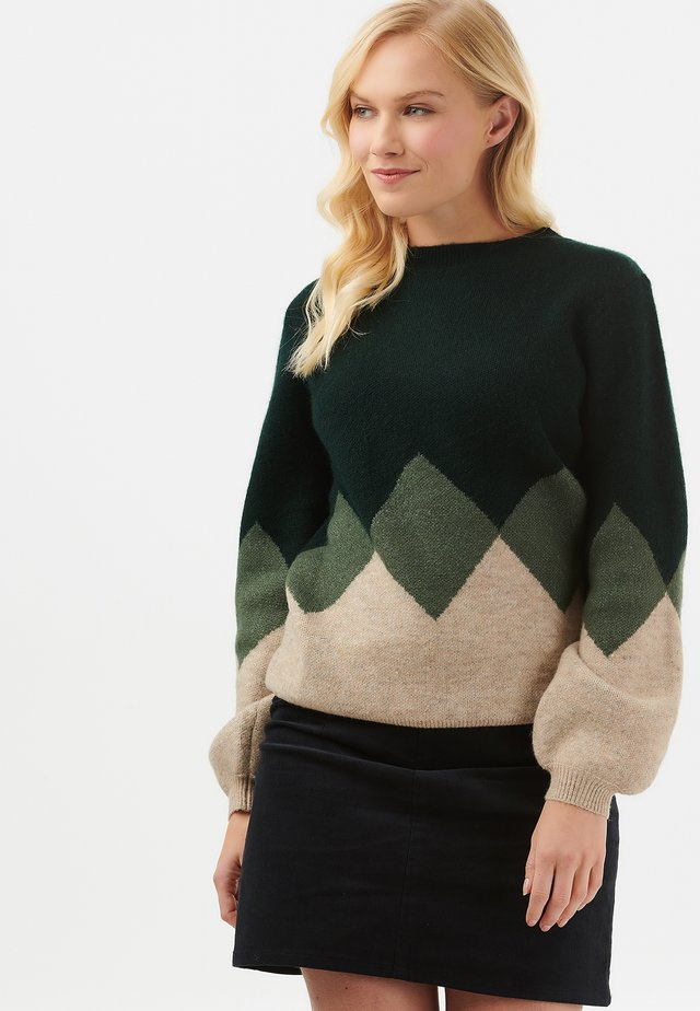ERIKA DIAMOND - Sweatshirt - green