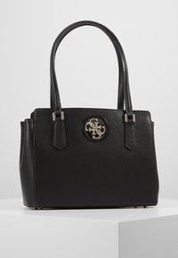 Guess - OPEN ROAD LUXURY SATCHEL - Handbag - black - 0