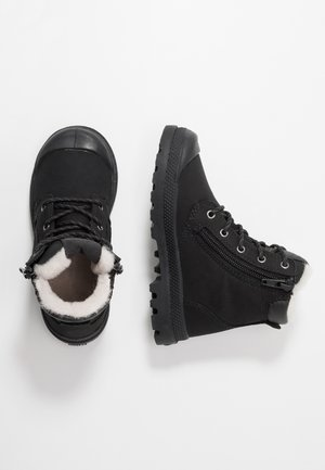HI CUFF WPS - Bottines à lacets - black/forged iron