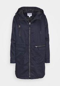 NMMISSI  LONG JACKET - Winter coat - night sky/black lining