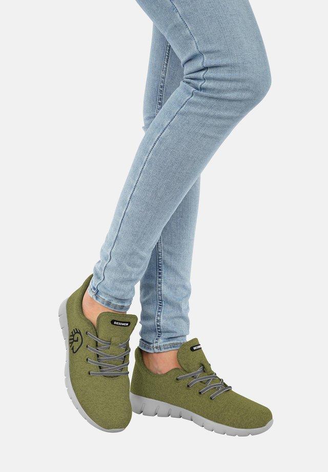 MERINO RUNNERS - Sneakers laag - khaki