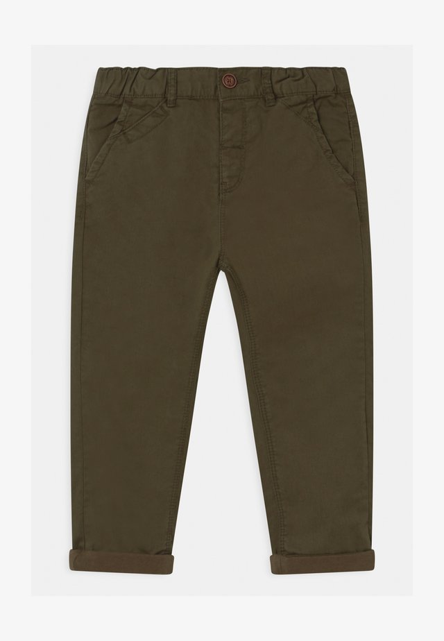 Chinos - burnt olive