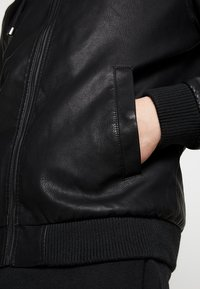 YOURTURN - Faux leather jacket - black - 6