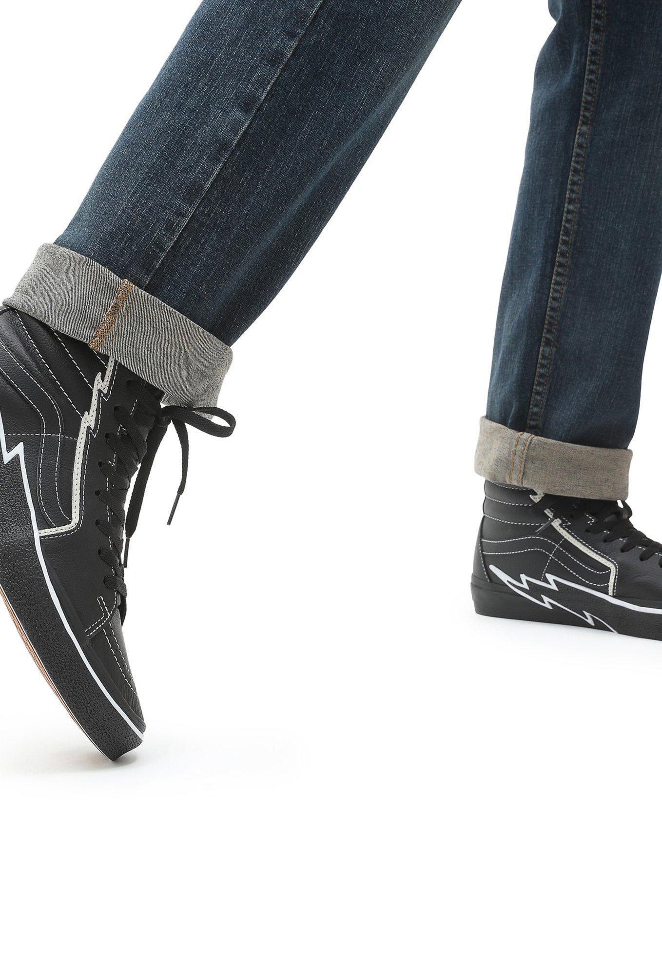 Damer UA SK8-HI BOLT - Sneakers high