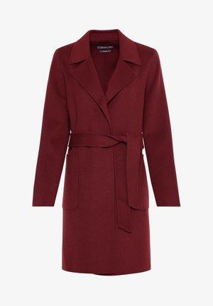 Classic coat - rubinrot